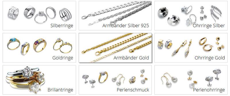 Schmuck Online-Shop
