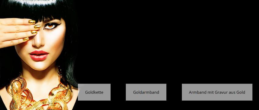 Online Shop - Goldkette & Goldarmband