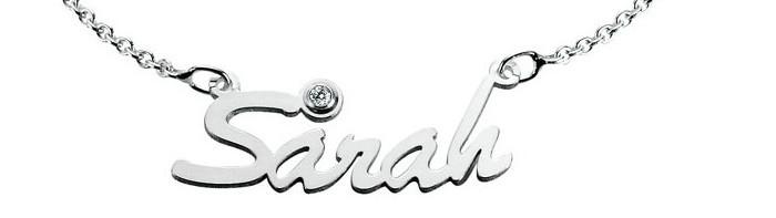 Namenskette Namensarmband