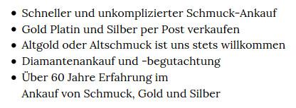 Altschmuck-ankauf