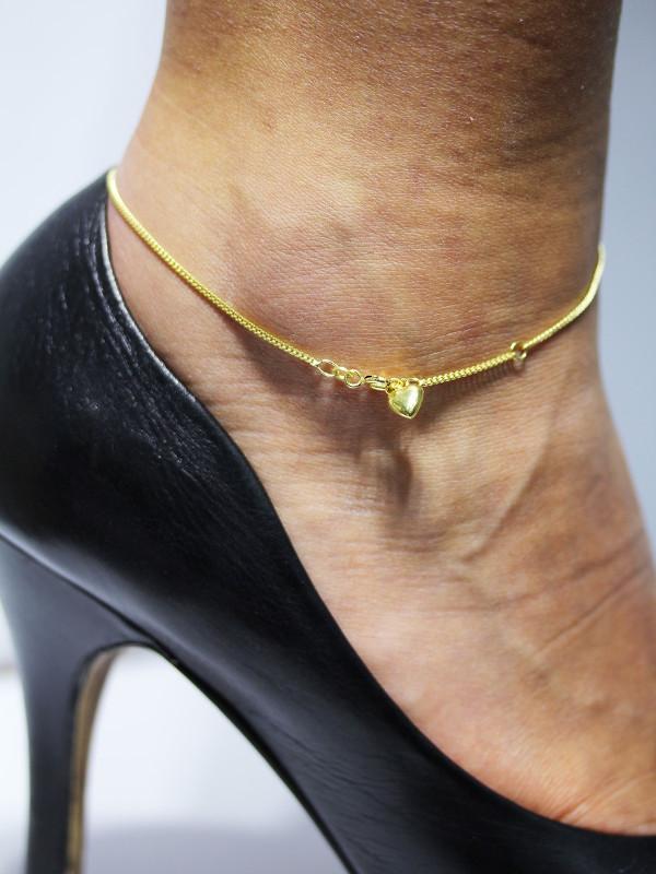 Fußkettchen Gold