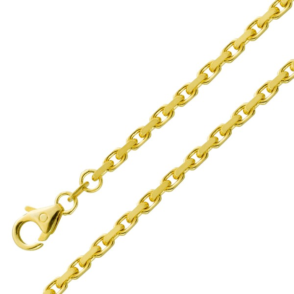 Goldarmband Goldkette Ankerkette Gelbgol...