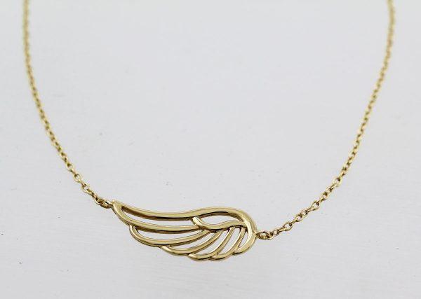 Armband Flügel – Goldarmband Gelb...