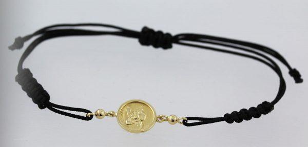 Engel Armband Textilarmband Gelb Gold 33...