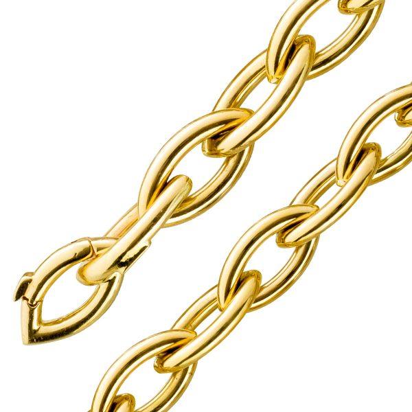 Goldarmband Ankerarmband Gelbgold 585 11...