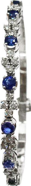 Luxuriöses Armband aus hochwertigem Wei...