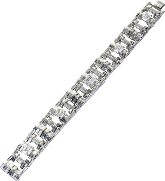 Diamantarmband Weißgold 750 mit ca. 29 ...