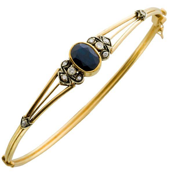 Armband – Armreif Antik Gelbgold 7...