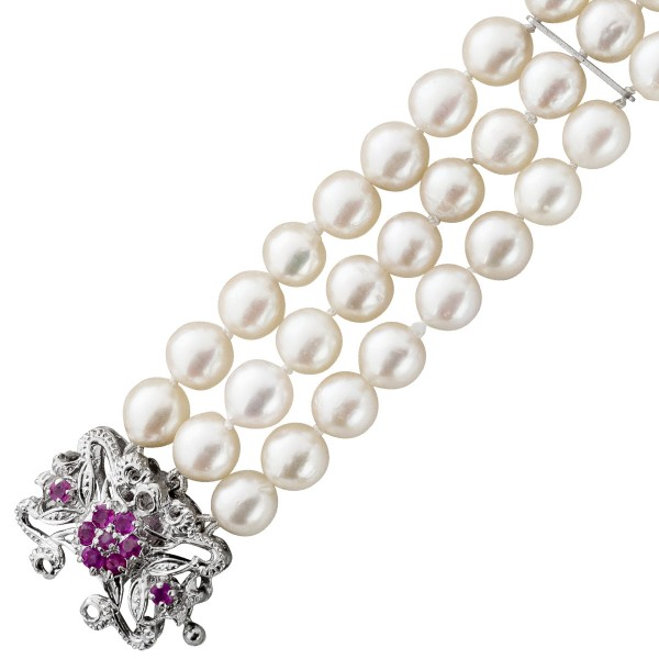 Armband – Perlenarmband Antik japa...