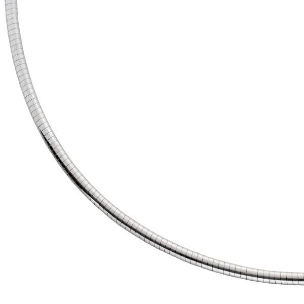 Kette – Spiralkette Weißgold 750 ...