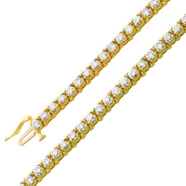 Exklusives Armband Gelbgold 585 Brillant...