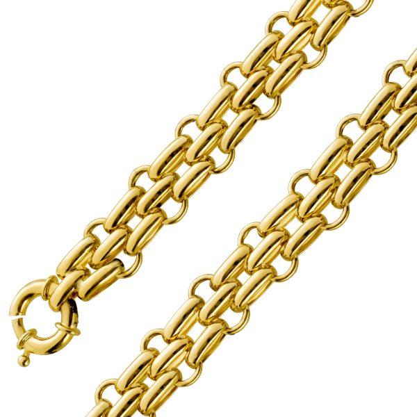 Panthere Armband Gold 585 9mm beweglich ...