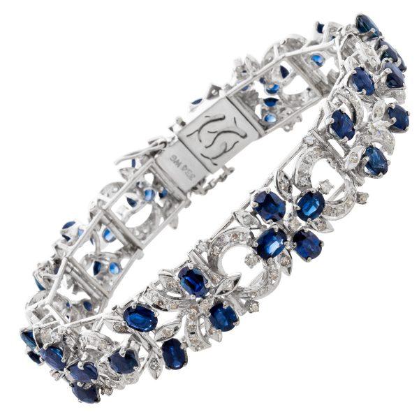Antikes exklusives Brillant Armband um 1...