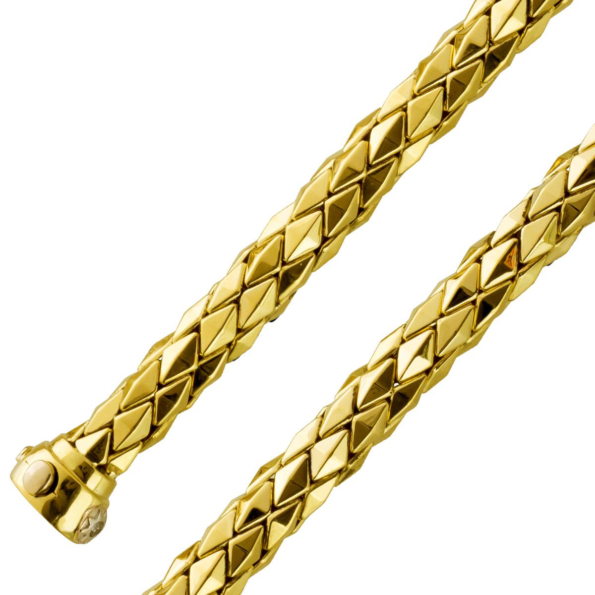Chimento Armreif/Armband Gelbgold750 Diamant Brillant 0