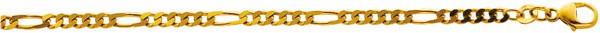Fußkette in Gelbgold 333/- 25 cm lang, ...